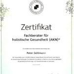 Hashimoto Mentor Peter Gehlmann Zertifikat AKN